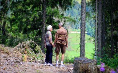 Le attività motorie all'aperto per anziani